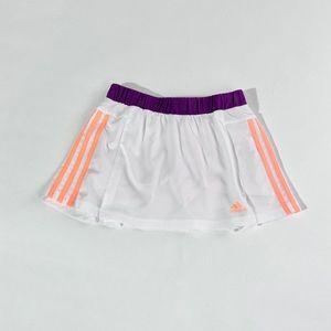 Adidas white response tennis skirt